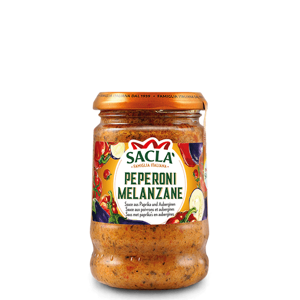 Capsicum and eggplant pasta sauce