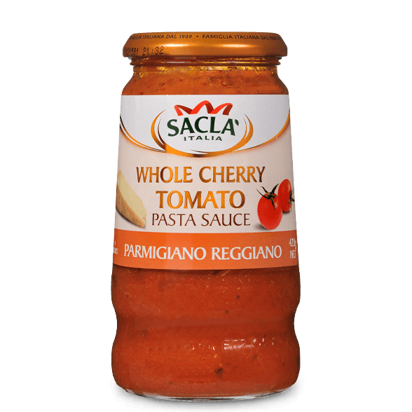 Parmigiana – cherry tomatoes and Parmigiano Reggiano