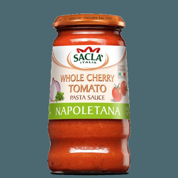 Napoletana – cherry tomatoes and basil