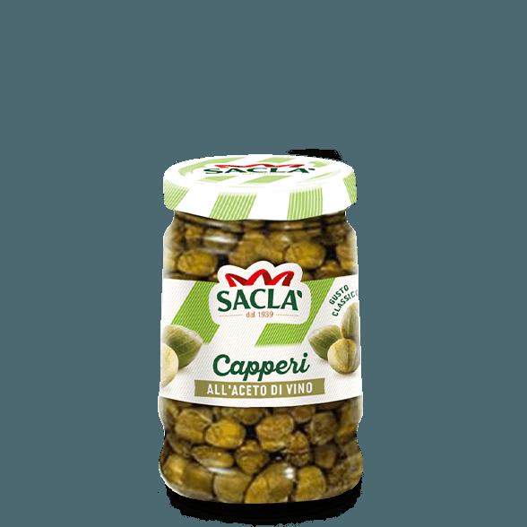 Capers in vinegar