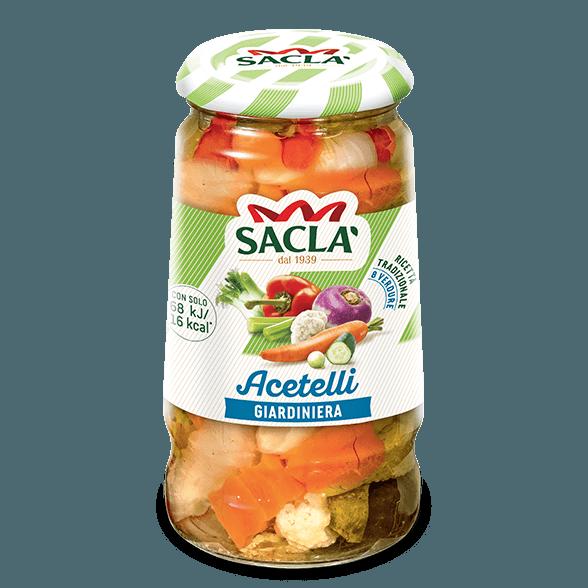 Mixed vegetables in vinegar